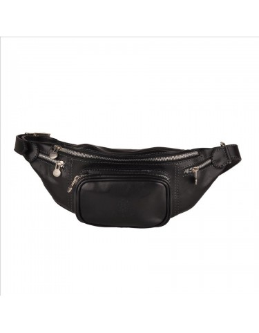 Pellevera-Leather Waist Unisex Bag